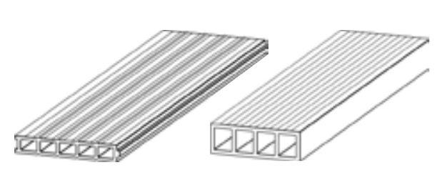 Hurdiska cihlová 40 x 1000 x 250 - vlevo