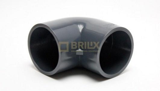 Koleno 90 D75 - BRILIX