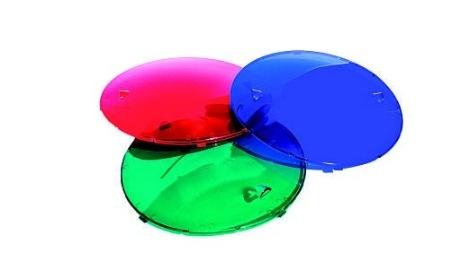 Barevné krytky pro bazénová světla UL-P100 3ks